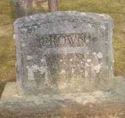 BROWN, JOHNNIE S L - Scott County, Arkansas | JOHNNIE S L BROWN - Arkansas Gravestone Photos