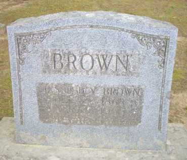 BROWN, JESSIE BLY - Scott County, Arkansas | JESSIE BLY BROWN - Arkansas Gravestone Photos