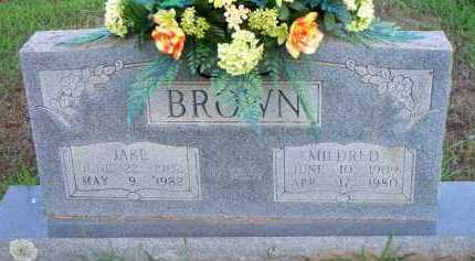 BROWN, JAKE - Scott County, Arkansas | JAKE BROWN - Arkansas Gravestone Photos