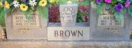 BROWN, MAXINE - Scott County, Arkansas | MAXINE BROWN - Arkansas Gravestone Photos