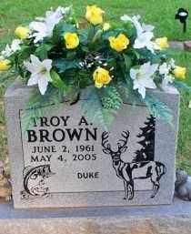 "BROWN, TROY A ""DUKE"" - Scott County, Arkansas | TROY A ""DUKE"" BROWN - Arkansas Gravestone Photos"