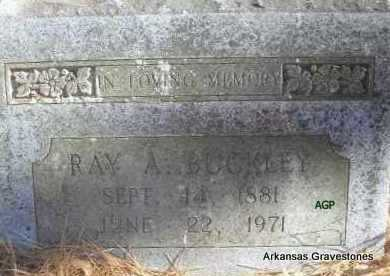 "BUCKLEY, RAY A  ""POPS"" - Scott County, Arkansas 