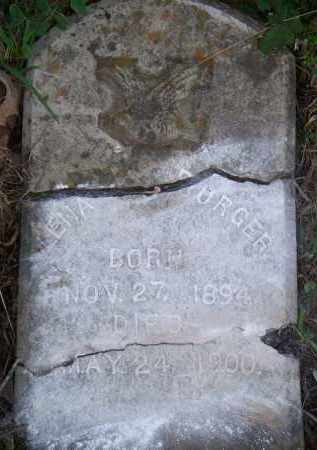 BURGER, LENA - Scott County, Arkansas | LENA BURGER - Arkansas Gravestone Photos