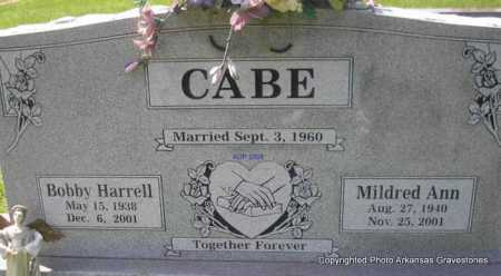 CABE, BOBBY HARRELL - Scott County, Arkansas | BOBBY HARRELL CABE - Arkansas Gravestone Photos
