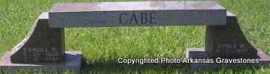 CABE, EAROLL - Scott County, Arkansas | EAROLL CABE - Arkansas Gravestone Photos