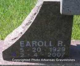 CABE, EAROLL R  (CLOSEUP) - Scott County, Arkansas | EAROLL R  (CLOSEUP) CABE - Arkansas Gravestone Photos