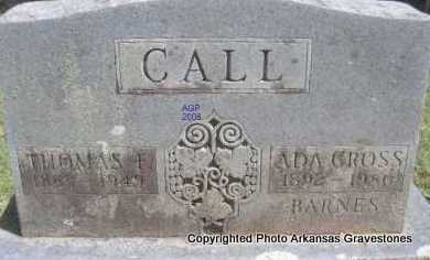 CALL, THOMAS F - Scott County, Arkansas | THOMAS F CALL - Arkansas Gravestone Photos