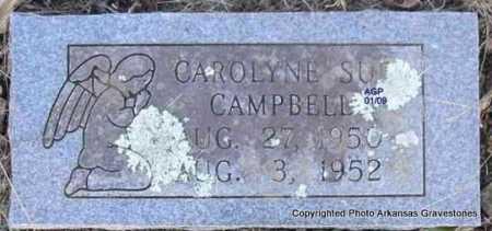 CAMPBELL, CAROLYN SUE - Scott County, Arkansas | CAROLYN SUE CAMPBELL - Arkansas Gravestone Photos