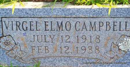 CAMPBELL, VIRGEL ELMO - Scott County, Arkansas | VIRGEL ELMO CAMPBELL - Arkansas Gravestone Photos