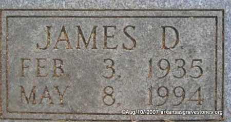 CARROLL, JAMES DAVID  ( CLOSEUP) - Scott County, Arkansas | JAMES DAVID  ( CLOSEUP) CARROLL - Arkansas Gravestone Photos