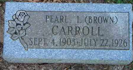 CARROLL, PEARL I - Scott County, Arkansas | PEARL I CARROLL - Arkansas Gravestone Photos