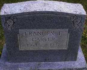 CARTER, FRANCES E - Scott County, Arkansas | FRANCES E CARTER - Arkansas Gravestone Photos