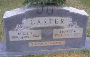 CARTER, ROXIE T - Scott County, Arkansas | ROXIE T CARTER - Arkansas Gravestone Photos