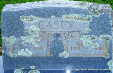 CASEY, MARY E - Scott County, Arkansas | MARY E CASEY - Arkansas Gravestone Photos