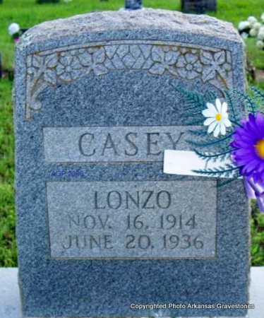 CASEY, LONZO - Scott County, Arkansas | LONZO CASEY - Arkansas Gravestone Photos