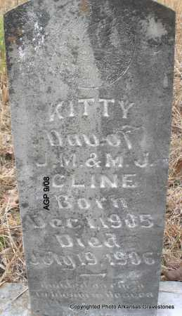 CLINE, KITTY - Scott County, Arkansas | KITTY CLINE - Arkansas Gravestone Photos