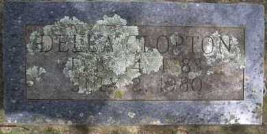 CLOPTON, DELLA - Scott County, Arkansas | DELLA CLOPTON - Arkansas Gravestone Photos