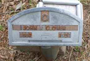 CLOVER, JOHN R - Scott County, Arkansas | JOHN R CLOVER - Arkansas Gravestone Photos