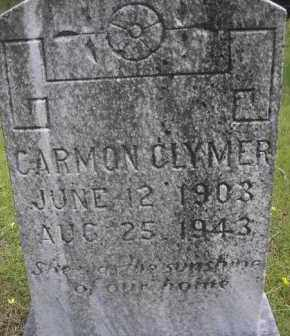 CLYMER, CARMON - Scott County, Arkansas | CARMON CLYMER - Arkansas Gravestone Photos