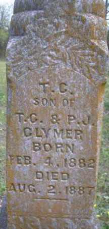 CLYMER, T  C - Scott County, Arkansas | T  C CLYMER - Arkansas Gravestone Photos