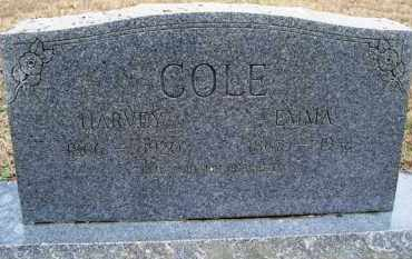 COLE, HARVEY - Scott County, Arkansas | HARVEY COLE - Arkansas Gravestone Photos