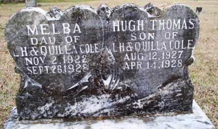 COLE, HUGH THOMAS - Scott County, Arkansas | HUGH THOMAS COLE - Arkansas Gravestone Photos