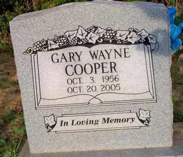COOPER, GARY WAYNE - Scott County, Arkansas | GARY WAYNE COOPER - Arkansas Gravestone Photos