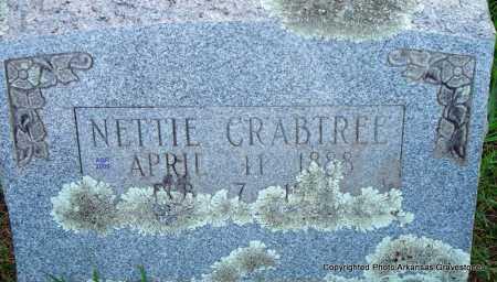 CRABTREE, NETTIE - Scott County, Arkansas | NETTIE CRABTREE - Arkansas Gravestone Photos