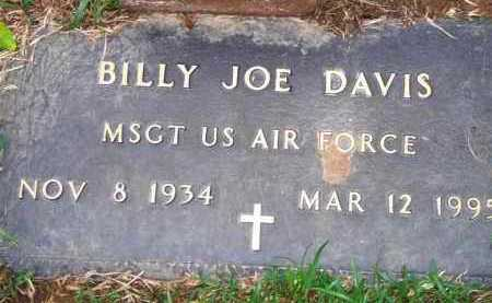 DAVIS  (VETERAN), BILLY JOE - Scott County, Arkansas | BILLY JOE DAVIS  (VETERAN) - Arkansas Gravestone Photos