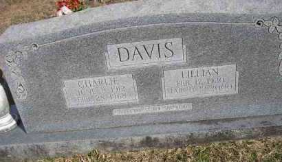 DAVIS, CHARLIE - Scott County, Arkansas | CHARLIE DAVIS - Arkansas Gravestone Photos