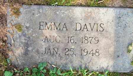 DAVIS, EMMA - Scott County, Arkansas | EMMA DAVIS - Arkansas Gravestone Photos
