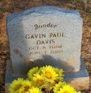 "DAVIS, GAVIN PAUL  ""BOODER"" - Scott County, Arkansas 