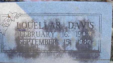 DAVIS, LOUELLAR - Scott County, Arkansas | LOUELLAR DAVIS - Arkansas Gravestone Photos