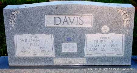 DAVIS, RUBY A - Scott County, Arkansas | RUBY A DAVIS - Arkansas Gravestone Photos
