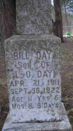 DAY, BILL - Scott County, Arkansas | BILL DAY - Arkansas Gravestone Photos