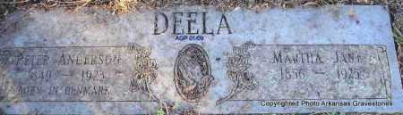 DEELA, MARTHA JANE - Scott County, Arkansas | MARTHA JANE DEELA - Arkansas Gravestone Photos