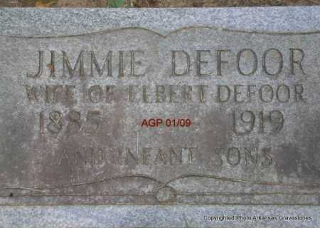 DEFOOR, INFANT SONS - Scott County, Arkansas | INFANT SONS DEFOOR - Arkansas Gravestone Photos