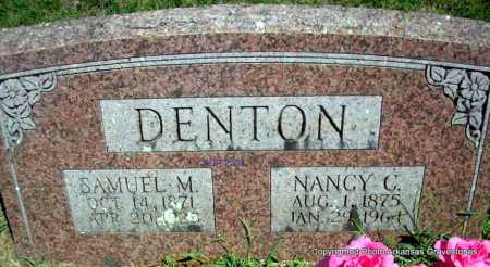 DENTON, SAMUEL M - Scott County, Arkansas | SAMUEL M DENTON - Arkansas Gravestone Photos