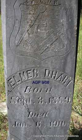 D'HART, ELMER - Scott County, Arkansas | ELMER D'HART - Arkansas Gravestone Photos