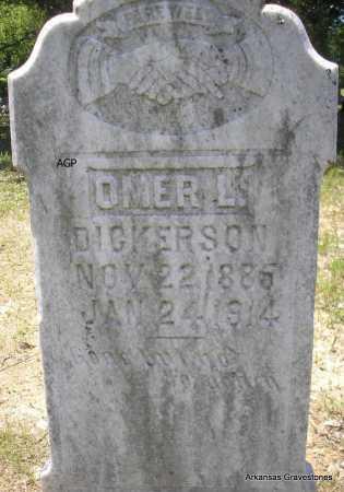 DICKERSON, OMER L - Scott County, Arkansas | OMER L DICKERSON - Arkansas Gravestone Photos