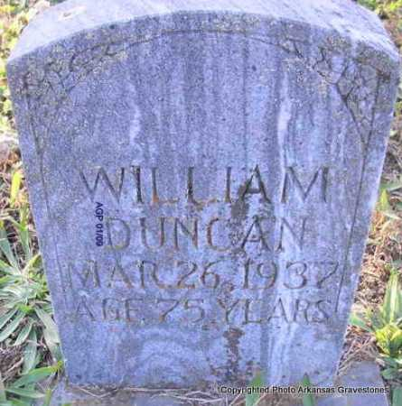 DUNCAN, WILLIAM  (2ND STONE) - Scott County, Arkansas | WILLIAM  (2ND STONE) DUNCAN - Arkansas Gravestone Photos