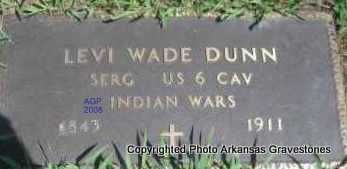 DUNN  (VETERAN IW), LEVI - Scott County, Arkansas | LEVI DUNN  (VETERAN IW) - Arkansas Gravestone Photos