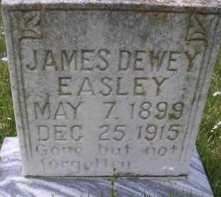 EASLEY, JAMES DEWEY - Scott County, Arkansas | JAMES DEWEY EASLEY - Arkansas Gravestone Photos