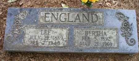 ENGLAND, BERTHA - Scott County, Arkansas | BERTHA ENGLAND - Arkansas Gravestone Photos