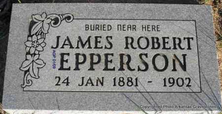 EPPERSON, JAMES ROBERT - Scott County, Arkansas | JAMES ROBERT EPPERSON - Arkansas Gravestone Photos