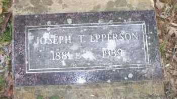 EPPERSON, JOSEPH T - Scott County, Arkansas | JOSEPH T EPPERSON - Arkansas Gravestone Photos