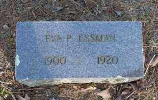 ESSMAN, EVA P - Scott County, Arkansas | EVA P ESSMAN - Arkansas Gravestone Photos