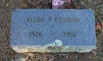 ESSMAN, ELLER E - Scott County, Arkansas | ELLER E ESSMAN - Arkansas Gravestone Photos