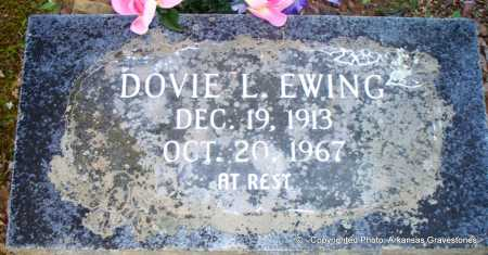 EWING, DOVIE L - Scott County, Arkansas | DOVIE L EWING - Arkansas Gravestone Photos
