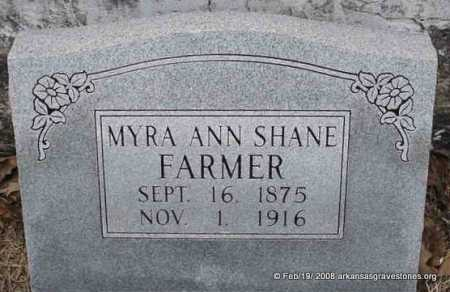 FARMER, MYRA ANN - Scott County, Arkansas | MYRA ANN FARMER - Arkansas Gravestone Photos